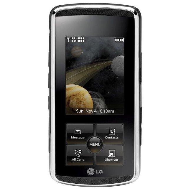 Foto telefony - LG KF600 Chrome Basic