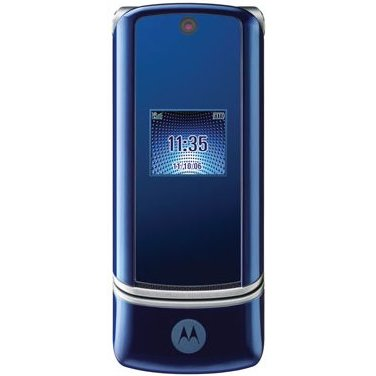 Motorola - Krzr K1 Blue