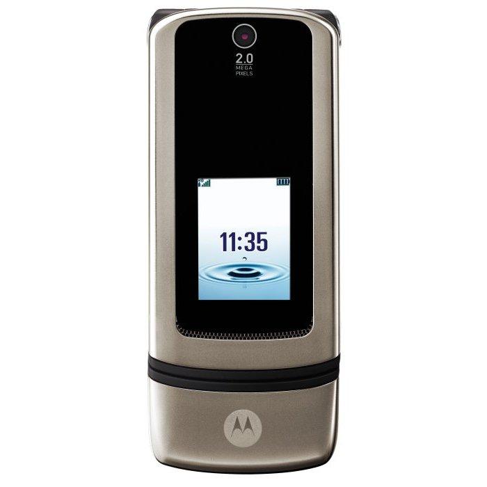 Motorola - Krzr K3 Stone Grey
