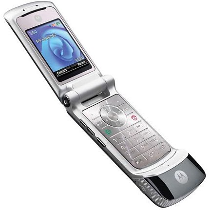 Mobilní telefon motorola véčko