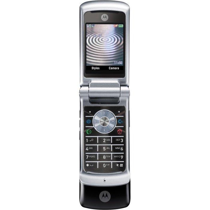 Motorola - Krzr K1 Black Slate
